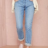 Nasty Gal The Pearl Boss Boyfriend Jeans