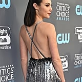 Gal Gadot's Makeup at Critics' Choice Awards 2018