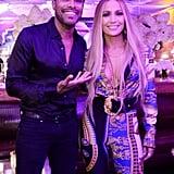 Jennifer Lopez MTV VMAs 2018 Afterparty Versace Look