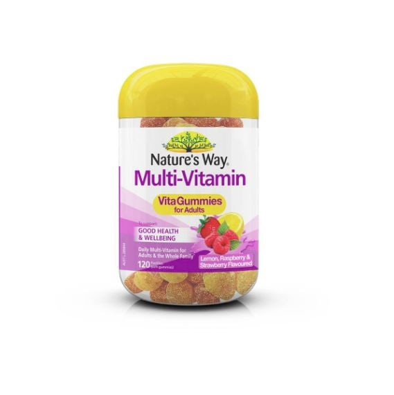 Nature's Way Vitagummies For Adults Multi-vitamin 120 Pack ($10, originally $20)