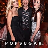 Pictured: Elizabeth Jagger, Georgia May Jagger, and Mick Jagger