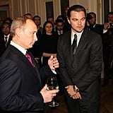 Pictures of Leonardo DiCaprio in Russia