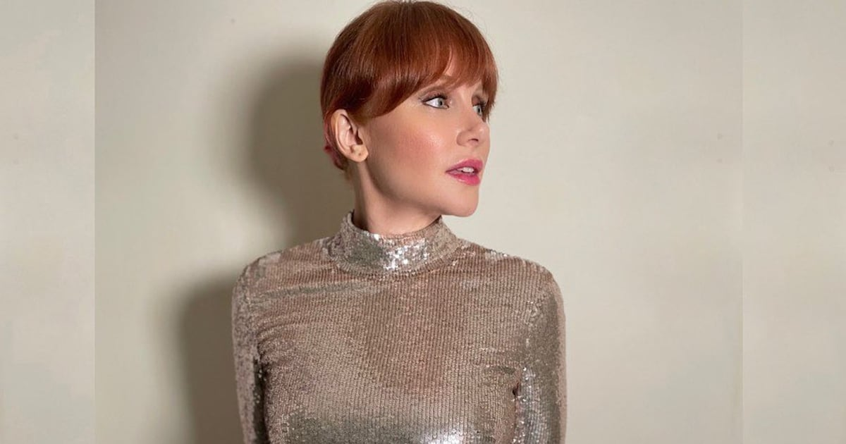 Bryce Dallas Howard Bought Her Sparkly Golden Globes Dress From The RealReal