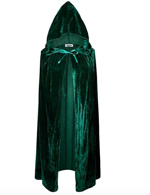 VGLOOK Kids Hooded Cloak Cape - Green
