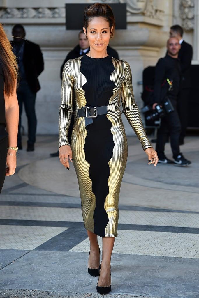 Jada Pinkett Smith at Paris Fashion Week 2015 Pictures
