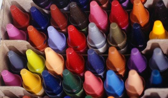 Lil Tip: Recycle Broken Crayons