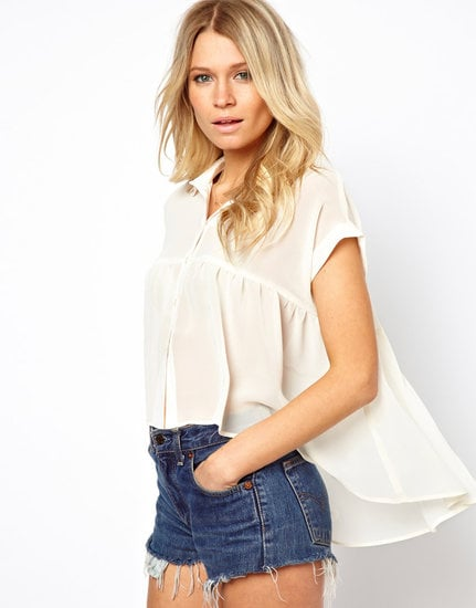 We're seriously smitten with this drapey ASOS Swing Shirt ($48) — style it with denim cutoffs or even a printed pencil skirt for a dose of boho cool.