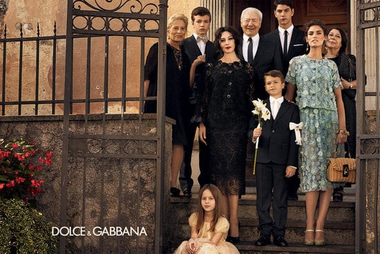 Model Bianca Balti stars in the Spring '12 Dolce & Gabbana ad campaign. Source: Fashion Gone Rogue