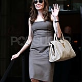 Angelina Jolie Steps Out Post-Engagement With Her Huge Ring