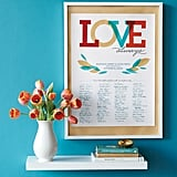 "Editable ""Love Always"" Poster"