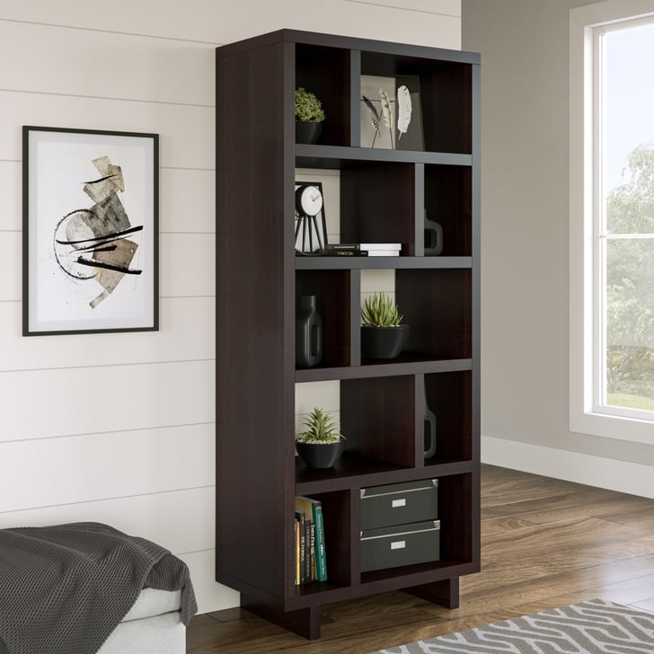Better Homes Amp Gardens Steele Open Tower Bookcase Best Cheap Furniture From Walmart Popsugar