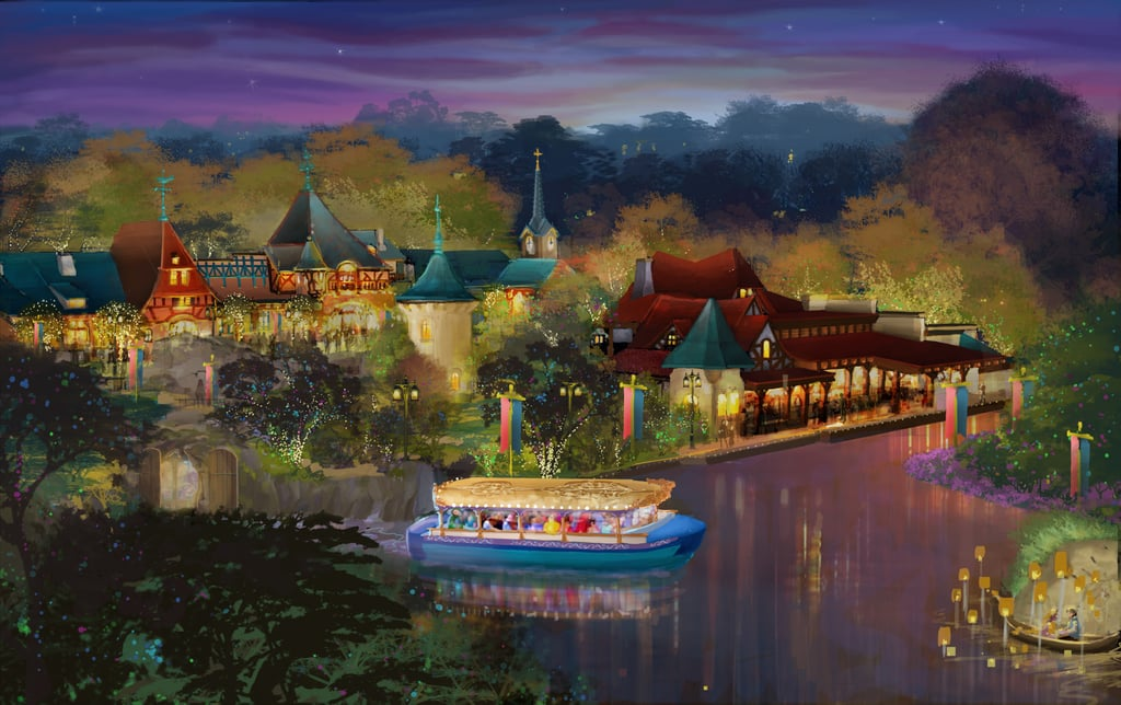 Voyage to the Crystal Grotto Attraction Rendering
