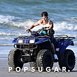 Justin Bieber Cries on ATV in Panama After Arrest