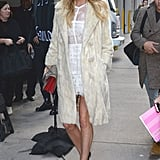 Elsa Hosk wearing a Gucci bag.