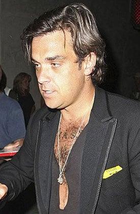 Sugar Bits — Robbie Williams Splits From Girlfriend Ayda