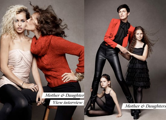 H&M Holiday Campaign Starring Stella Tennant, Alice Delal, Lou Doillon and loved ones!