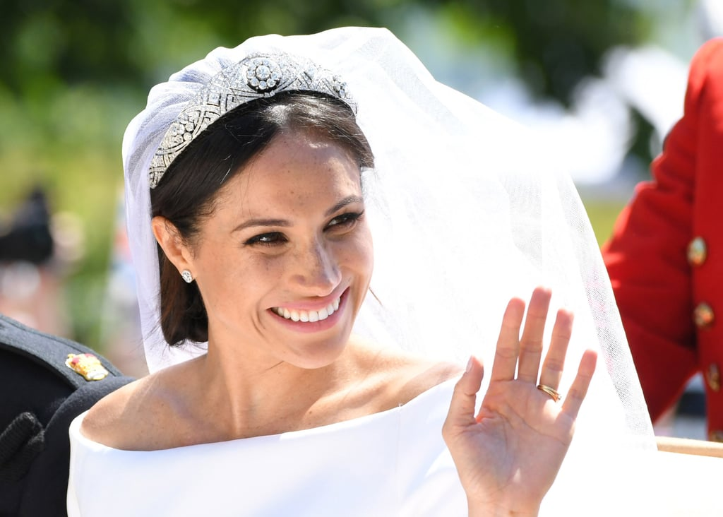 Meghan Wore Queen Mary's Diamond Bandeau Tiara