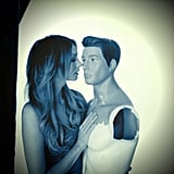 Ricki-Lee Coulter got up close and personal with a mannequin. Source: Instagram user therickilee
