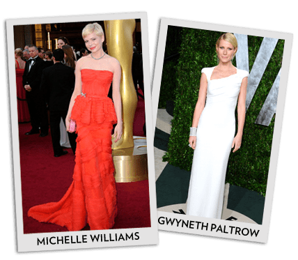 Best Dressed From the 2012 Oscars