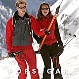 The couple had a getaway to Klosters, Switzerland, in March 2004.