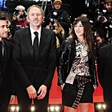 Jake Gyllenhaal, Anton Corbijn, Charlotte Gainsbourg, and Mike Leigh attended the closing ceremony of the Berlin International Film Festival.