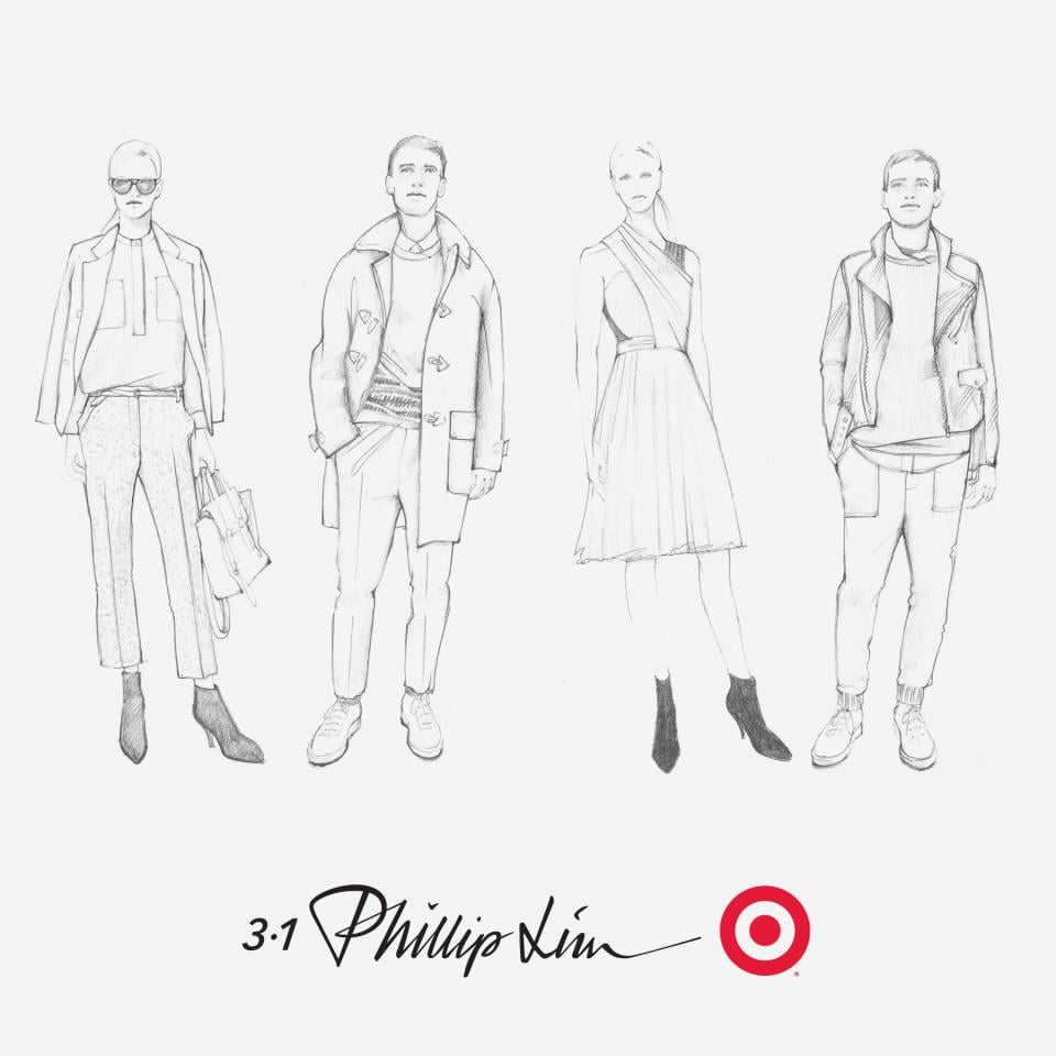 Your first look at the Phillip Lim for Target sketches — is that a Pashli tote we spy? We can't wait for September 15. Source: Target on Facebook