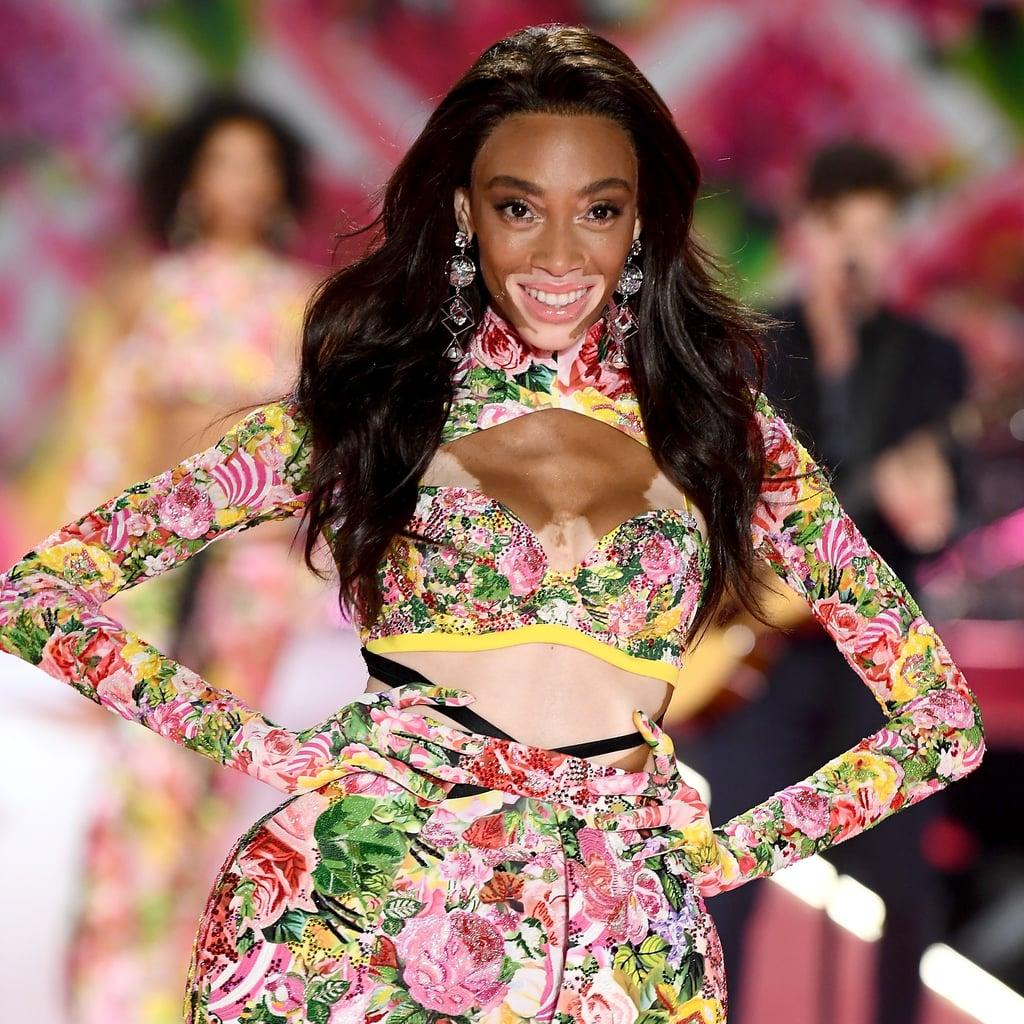 b337e724dbd Winnie Harlow Victoria's Secret Fashion Show 2018 | POPSUGAR Fashion