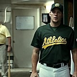 When Moneyball happened, he looked pret-ty hot in a uniform.