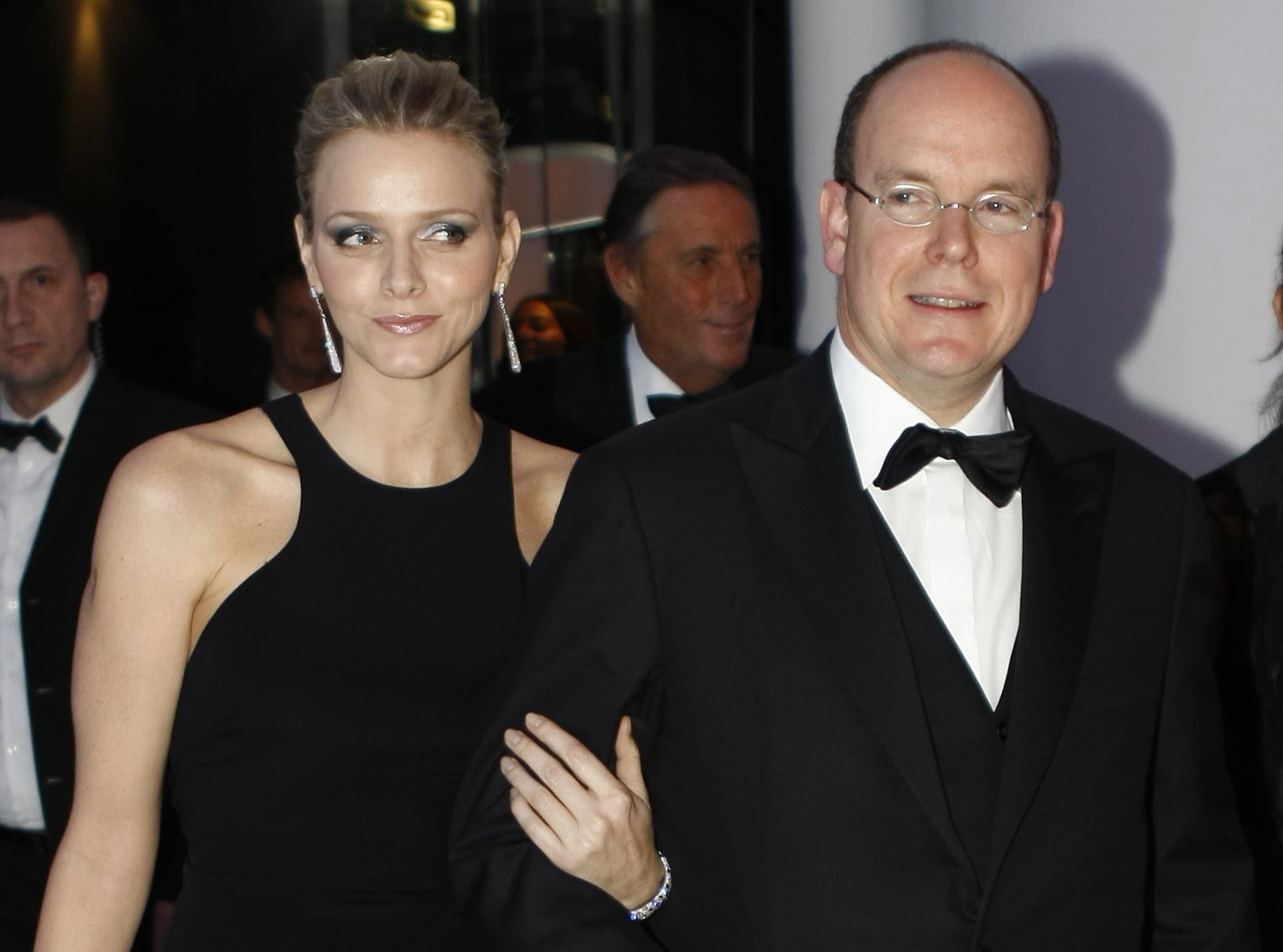 Princess Charlene and Prince Albert posed together before the 2009 FIA prize presentation gala in December 2009. Source: Getty / Eric Gaillard/AFP