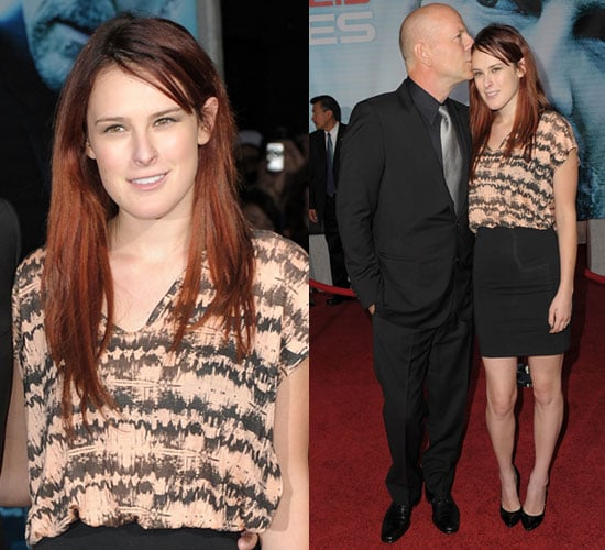 Photo of Rumer Willis in Printed Top at Surrogates Premiere in LA 2009-09-25 11:02:10