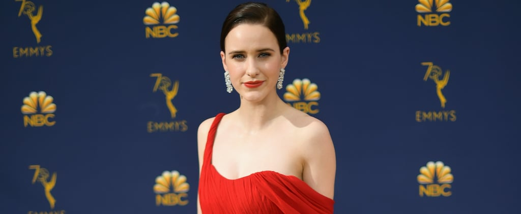 Rachel Brosnahan's Oscar de la Renta Dress at the 2018 Emmys