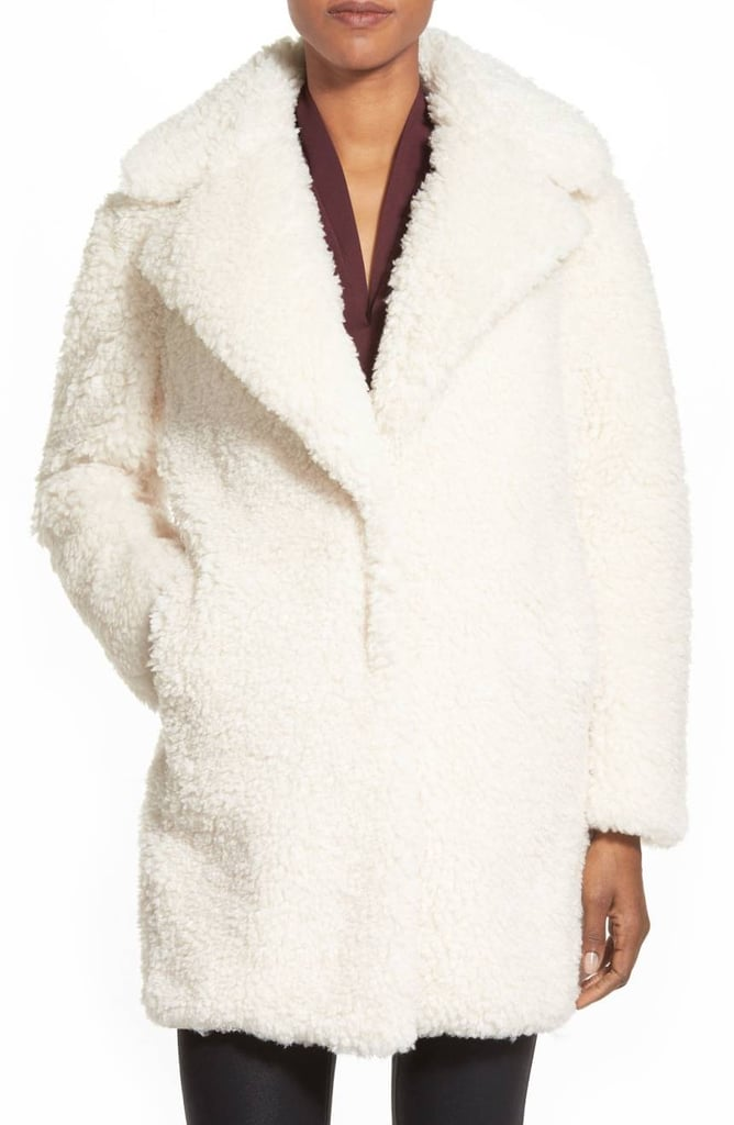 4eeb6a592 Kensie Reversible Faux Fur Coat