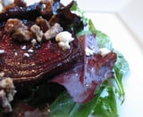Roasted Beet, Goat Cheese, and Sweet Pecan Salad