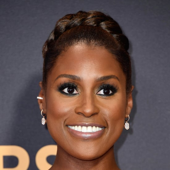 Issa Rae's Beauty Look at the 2017 Emmys