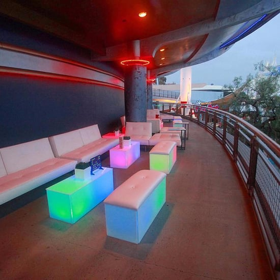 Disneyland Tomorrowland Skyline Lounge Experience