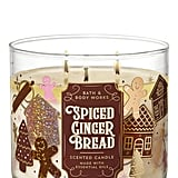 Bath & Body Works Spiced Gingerbread 3-Wick Candle