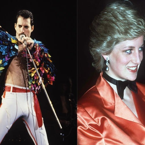 Were Freddie Mercury and Princess Diana Friends?