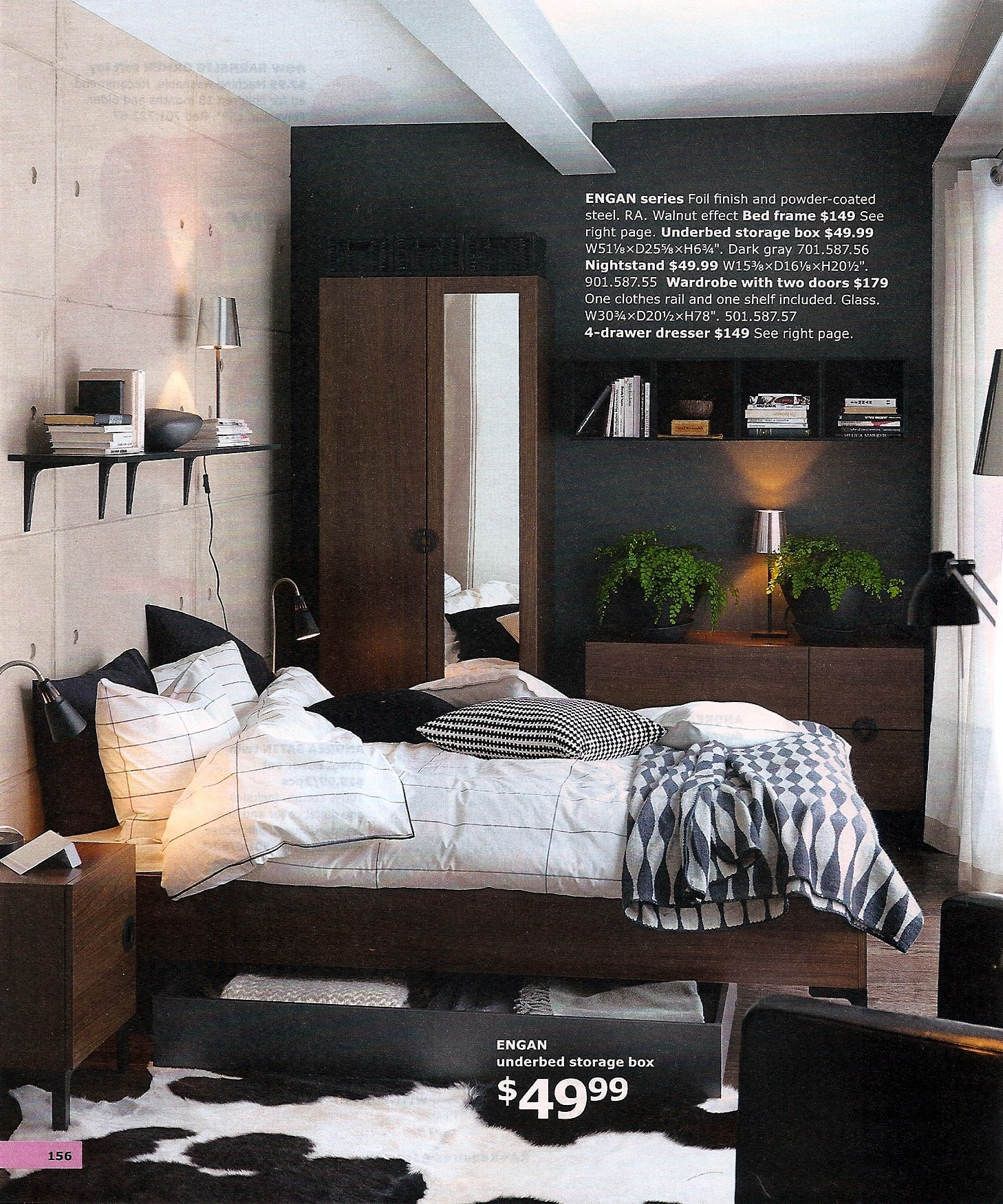 A gorgeously masculine bedroom!