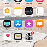 Locate the Clock App on Your Home Screen