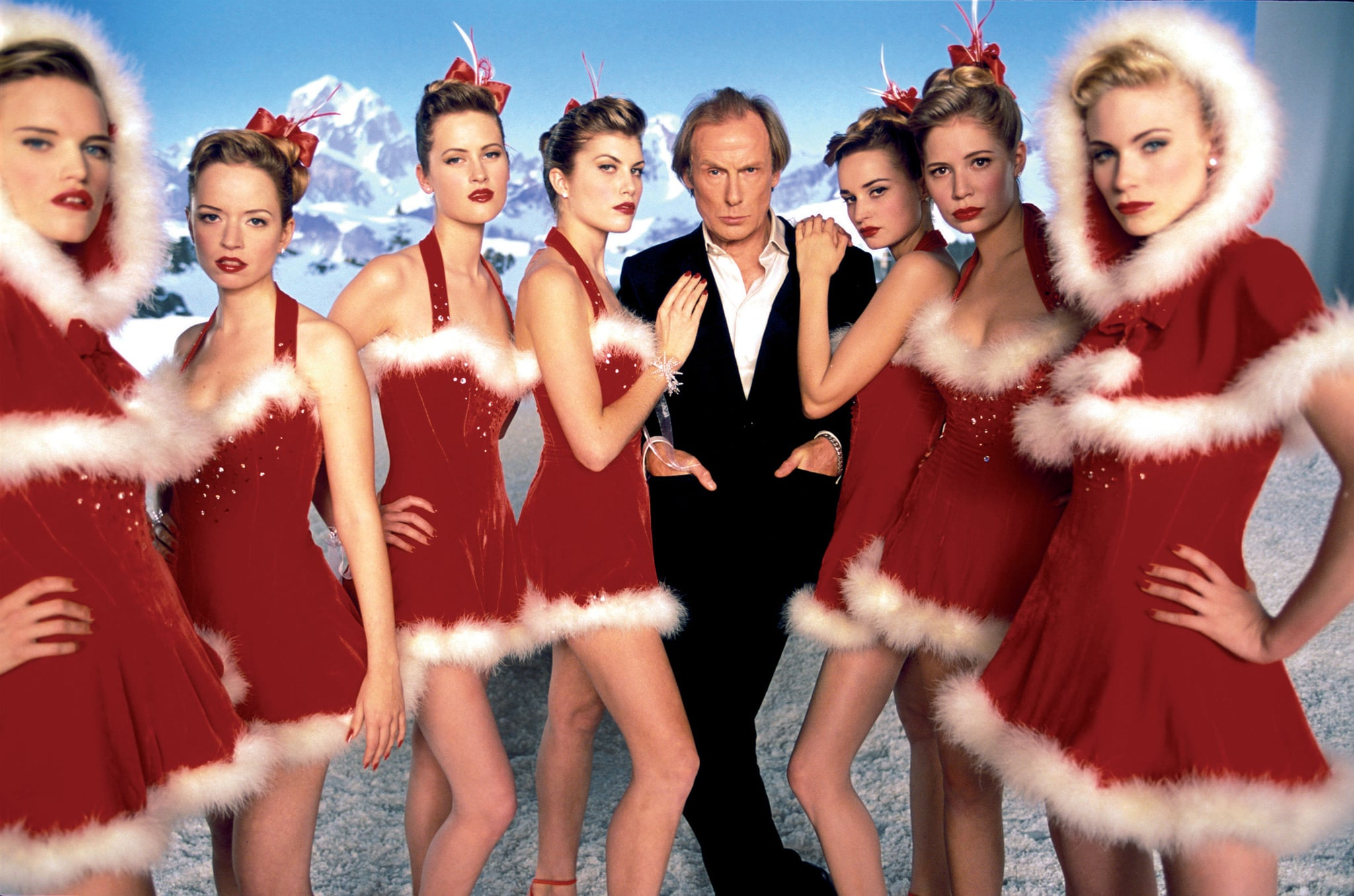 LOVE ACTUALLY, Bill Nighy, 2003.  Universal Pictures/ Courtesy: Everett Collection
