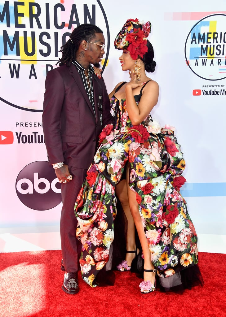 Cardi B's Dress at the American Music Awards 2018