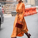 The Fall Dress Trend: Bright Colours