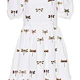 Agua by Agua Bendita Pomelo Embroidered Linen Mini Dress