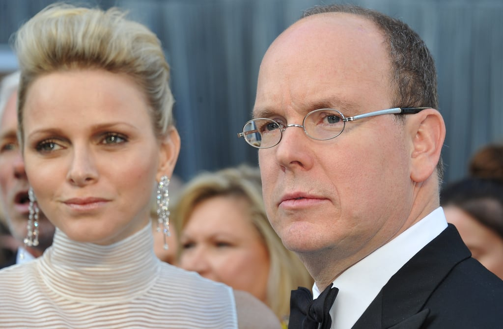 The Prince and Princess of Monaco hit the Oscars red carpet
