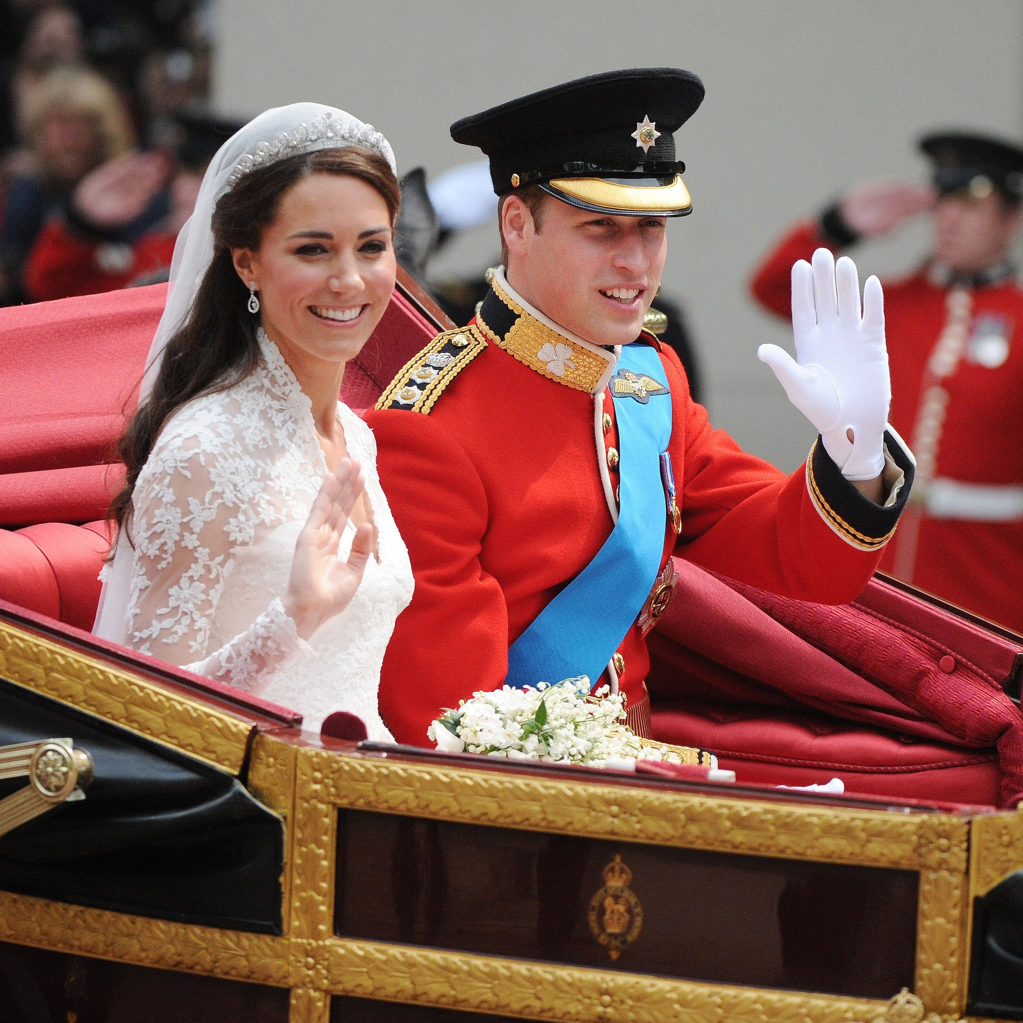 Celebrities at Kate Middleton and Prince William\'s Wedding ...
