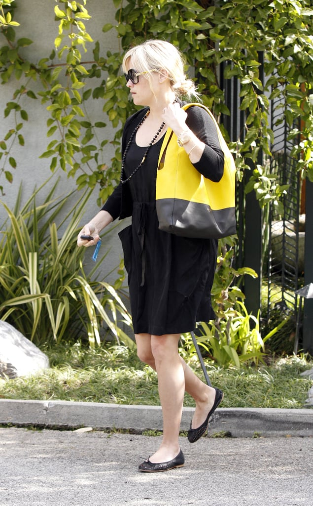 Reese Witherspoon Steps Out While Her Kids Get Ready For Baby