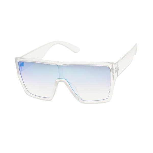 Steve Madden Square Shield Sunglasses