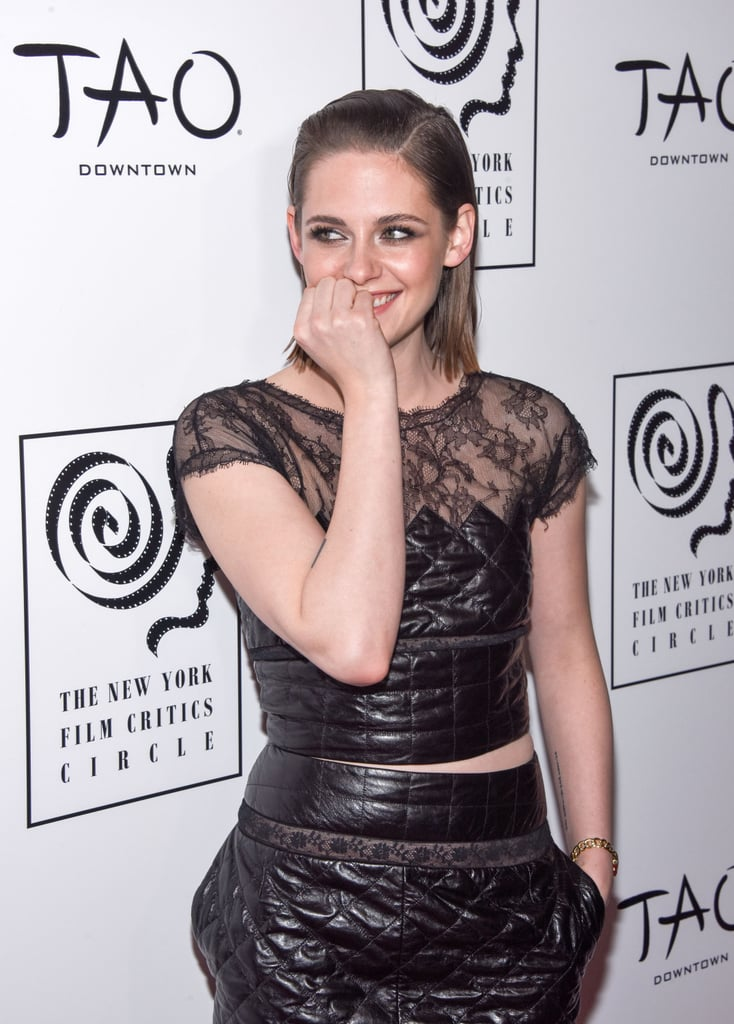 Kristen Stewart Flashes Her Bashful Smile During an NYC Appearance