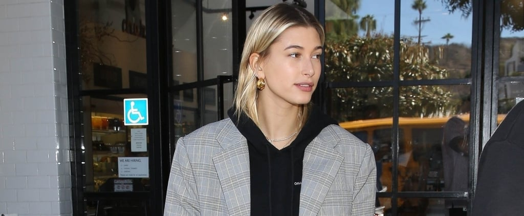 Hailey Baldwin Yellow and Black Sneakers Adidas x Raf Simons