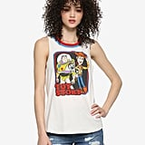 Disney Pixar Toy Story Woody and Buzz Girls Ringer Tank Top
